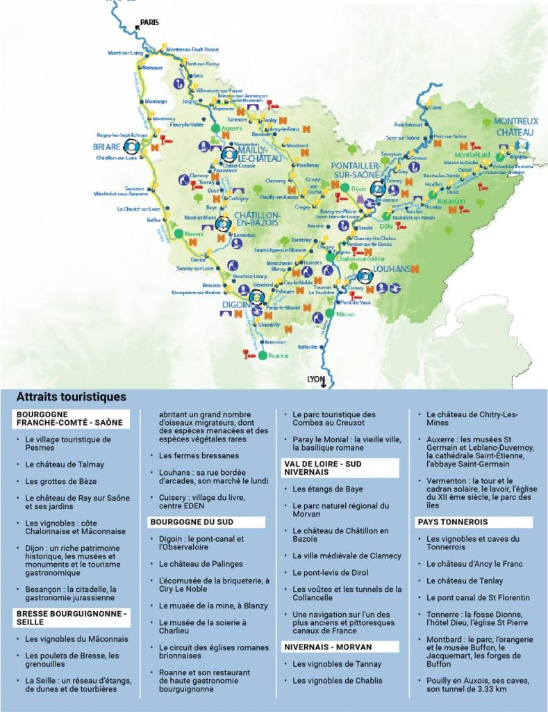 Carte Bourgogne 2021